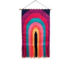 Rainbow Needlepoint Wall-Hanging Kit