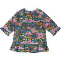 Rainbow Chambray Baby Dress