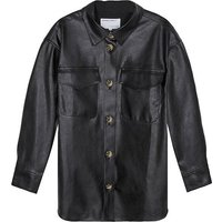 Marie Recycled Leather Overshirt