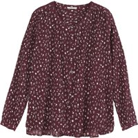 Floral Crepon Blouse -Women's Collection-