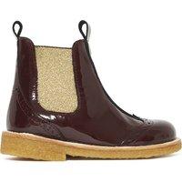 Varnished Lurex Boots