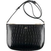 Sarah Croc-print Leather Bag