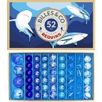 Box of 52 Shark Marbles
