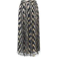 Tula Silk and Lurex Skirt