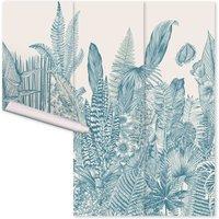 Botanic Wallpaper - 3 panels