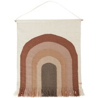 Rainbow Wool Wall Rug