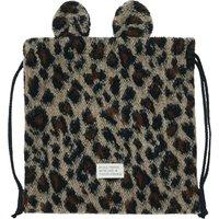 Faux Fur Leopard Bag