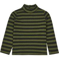 'Striped Turtleneck Sweater