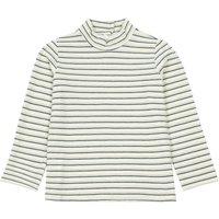 'Lurex Striped Turtleneck Sweater