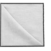Set of 4 oversewn washed linen napkins