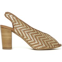 Areosa Braided Leather Sandals