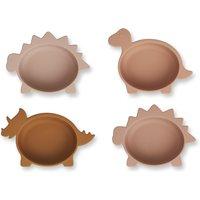 Iggy Dino Silicone Bowls - Set of 4