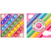 Box of 25 Marbles - Rainbow Paradise