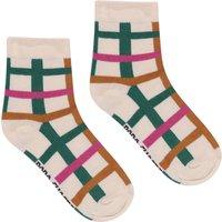 Multicolour Check Socks - Women's Collection -