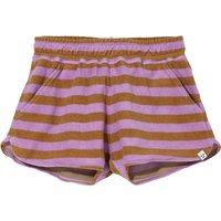 Holiday Terrycloth Striped Shorts