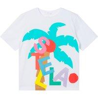 Oversize Organic Cotton Palm Tree T-Shirt