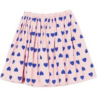 Raspberry Organic Cotton Heart Skirt