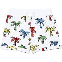 Organic Flannelette Palm Tree Baby Shorts