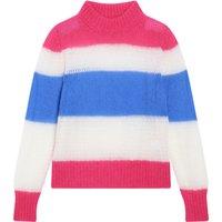 Striped Light Mohair Jumper