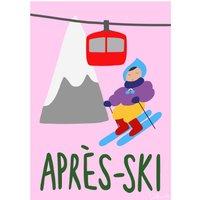 """AprA""""s-ski Poster"""