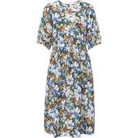 Garden Cotton and Silk Dress