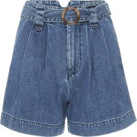 The Leon High Rise Pleated Shorts