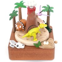 Dinosaur Wooden Music Box