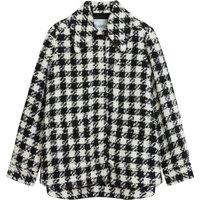 Boel Houndstooth Woollen Jacket