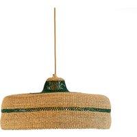 Deeply Handwoven Pendant Lamp