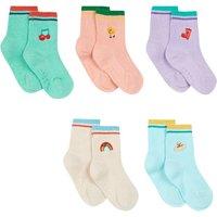 Set of 5 Pairs of Socks - Grenn Song
