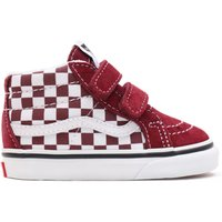 SK8-Mid Checkered Trainers