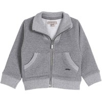 Cotton Zipped Sweatshirt