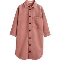 Arrow Corduroy Shirt Dress