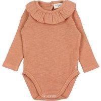 Organic Cotton Frill Collar Babygrow
