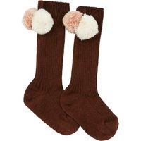 Long Pompom Socks