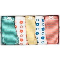 Set of 5 Organic Cotton Striped Briefs