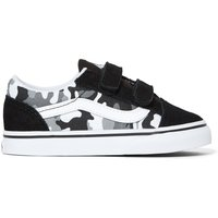 Old Skool Camouflage Print Velcro Trainers