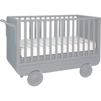 Convertible Trolley Bed 60x120 cm - Light Grey