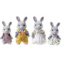 Grey Rabbit Family