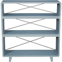 Bookcase 'Millefeuille' Mid gray