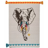 Circus Elephant Rug