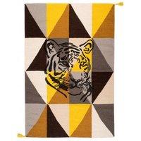 Circus Arlequin Tiger Rug - Tawny Brown