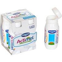 4 assorted Actimel drinks