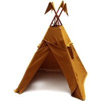 Cotton teepee - mustard yellow