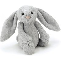 Bashful the Bunny with big ears - grey