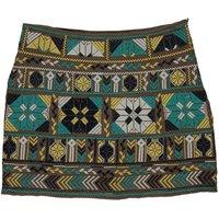 Selma embroidered skirt