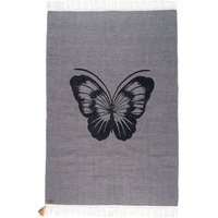 Coton Gypsy rug - Butterfly