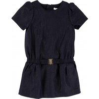 Belted Lurex Dress