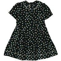 Polka Dot Zip-Up Pocket Dress