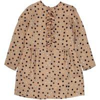 Dots Frill Detail Dress